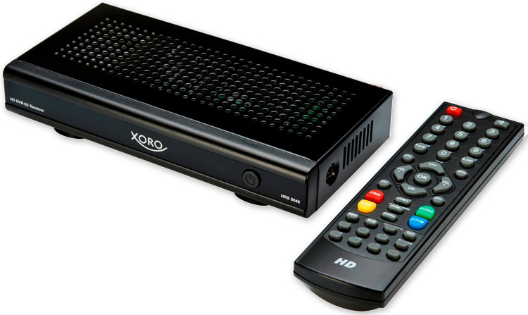HD DVB-S2 Receiver XORO HRS 8540 mit USB Media Player
