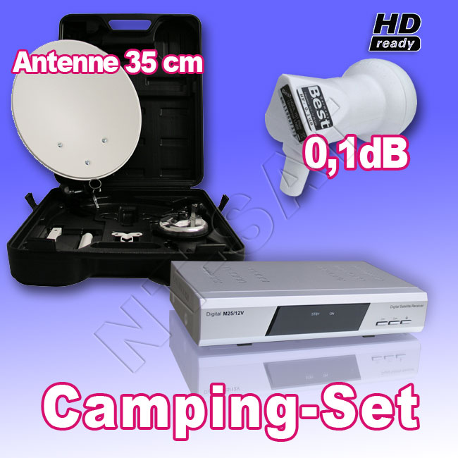 camping sat anlage digital im koffer mit digitaler receiver. Black Bedroom Furniture Sets. Home Design Ideas