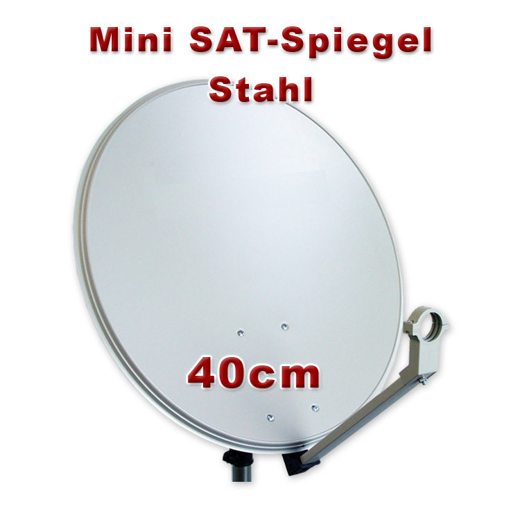satellite dish 40cm antenna dish for camping balcony mobile digital ebay. Black Bedroom Furniture Sets. Home Design Ideas
