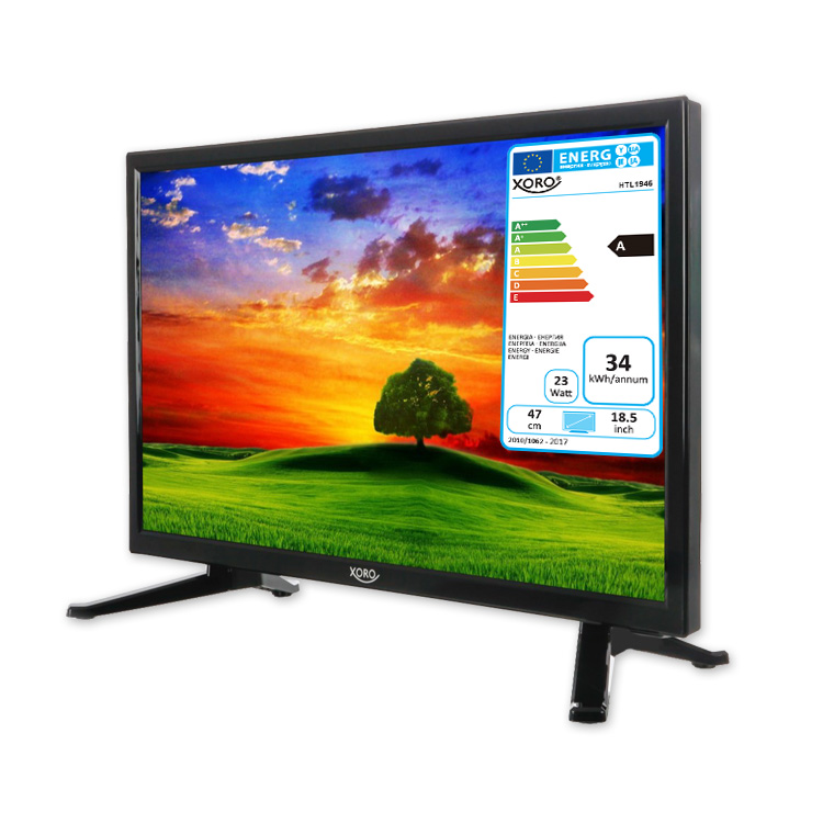 camping tv 18 5 zoll fernseher hd ledtv mit sat receiver hd triple tuner dvb s2 t2 c. Black Bedroom Furniture Sets. Home Design Ideas